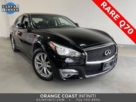 2019 Infiniti Q70 for sale at ORANGE COAST CARS in Westminster CA