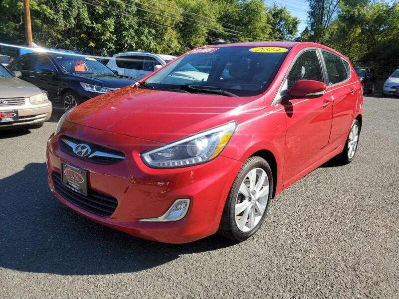 2014 Hyundai Accent for sale at CENTRAL AUTO GROUP in Raritan NJ