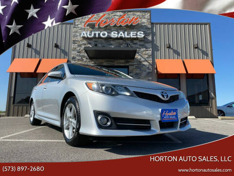 2012 Toyota Camry for sale at HORTON AUTO SALES, LLC in Linn MO
