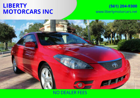 2008 Toyota Camry Solara for sale at LIBERTY MOTORCARS INC in Royal Palm Beach FL