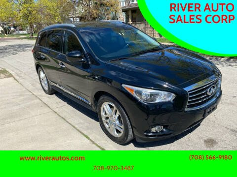 2013 Infiniti JX35 for sale at RIVER AUTO SALES CORP in Maywood IL