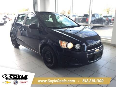 2015 Chevrolet Sonic for sale at COYLE GM - COYLE NISSAN in Clarksville IN