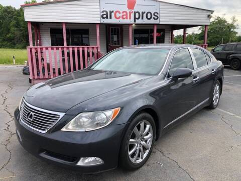 2008 Lexus LS 460 for sale at Arkansas Car Pros in Cabot AR