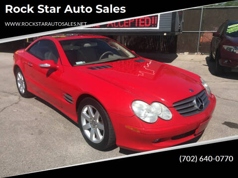 2003 Mercedes-Benz SL-Class for sale at Rock Star Auto Sales in Las Vegas NV