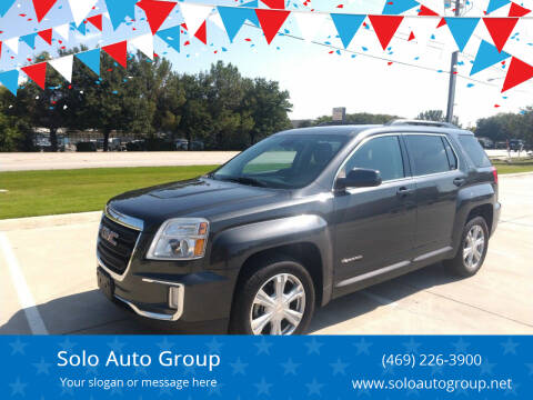 2017 GMC Terrain for sale at Solo Auto Group in Mckinney TX