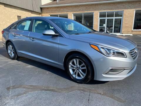 2016 Hyundai Sonata for sale at C Pizzano Auto Sales in Wyoming PA