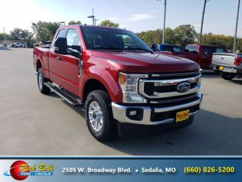 2022 Ford F-250 Super Duty for sale at RICK BALL FORD in Sedalia MO