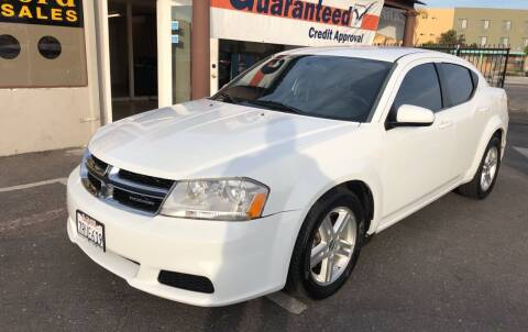 2012 Dodge Avenger for sale at Concord Auto Sales in El Cajon CA