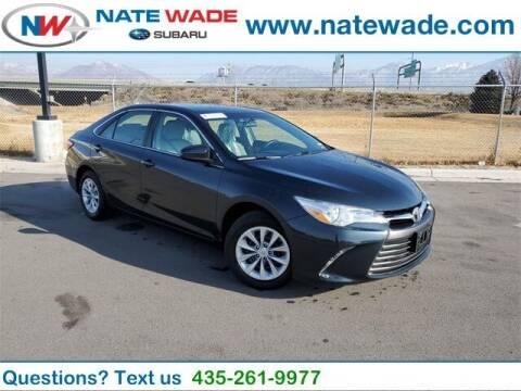 2015 Toyota Camry for sale at NATE WADE SUBARU in Salt Lake City UT