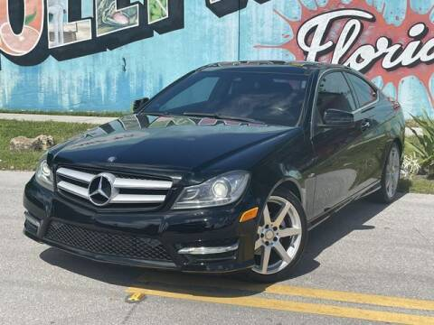 2012 Mercedes-Benz C-Class for sale at Palermo Motors in Hollywood FL