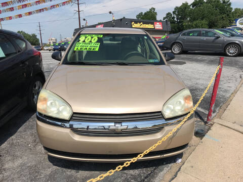 2005 Chevrolet Malibu for sale at Credit Connection Auto Sales Inc. HARRISBURG in Harrisburg PA