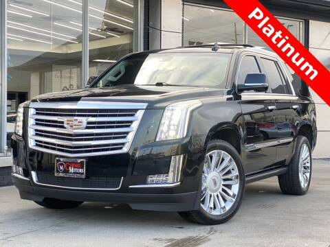 2015 Cadillac Escalade for sale at Carmel Motors in Indianapolis IN