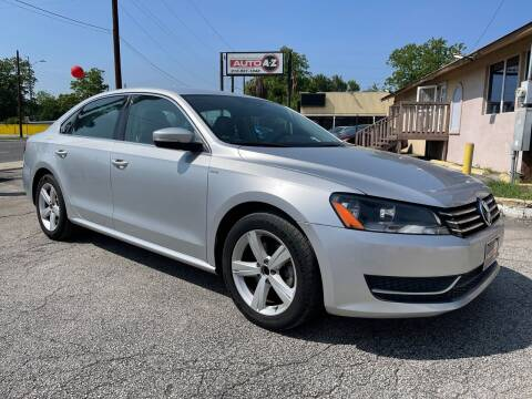 2014 Volkswagen Passat for sale at Auto A to Z / General McMullen in San Antonio TX