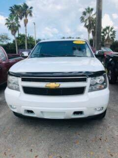 2012 Chevrolet Tahoe for sale at DAN'S DEALS ON WHEELS in Davie FL