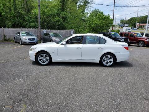 2010 BMW 5 Series for sale at CANDOR INC in Toms River NJ