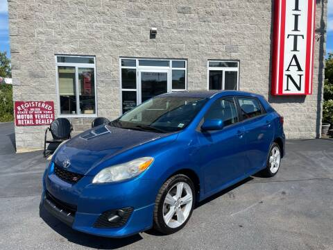 2009 Toyota Matrix for sale at Titan Auto Sales LLC in Albany NY