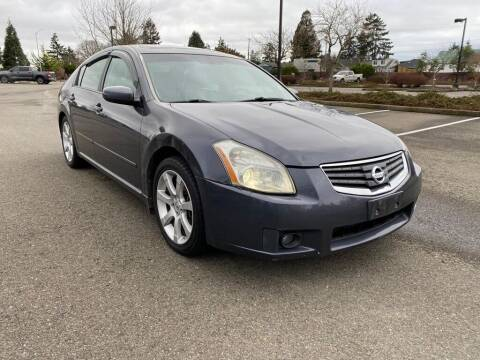 2007 Nissan Maxima for sale at Q Motors in Tacoma WA