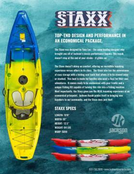 2021 JACKSON KAYAK STAXX STAXX for sale at Dukes Automotive LLC in Lancaster SC