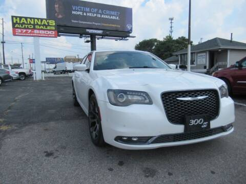 2015 Chrysler 300 for sale at Hanna's Auto Sales in Indianapolis IN