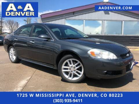 2013 Chevrolet Impala for sale at A & A AUTO LLC in Denver CO