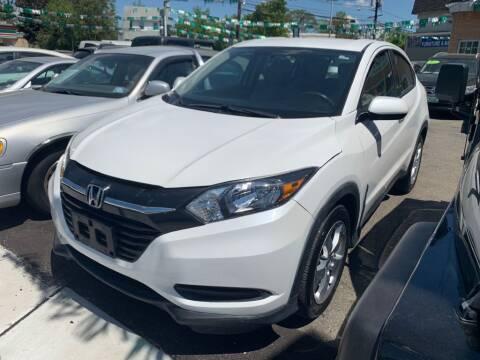 2016 Honda HR-V for sale at Park Avenue Auto Lot Inc in Linden NJ