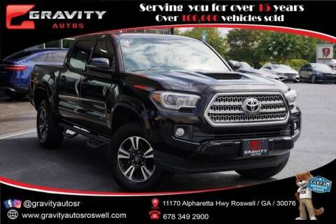 2016 Toyota Tacoma for sale at Gravity Autos Roswell in Roswell GA