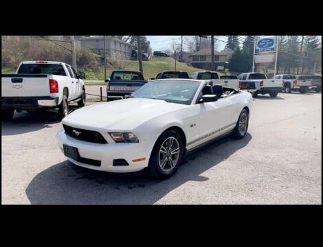 2012 Ford Mustang for sale at North Knox Auto LLC in Knoxville TN