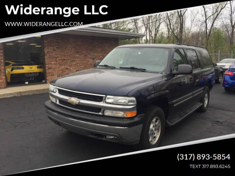 2004 Chevrolet Suburban for sale at Widerange LLC in Greenwood IN