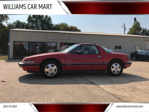 1988 Buick Reatta for sale at WILLIAMS CAR MART in Gassville AR