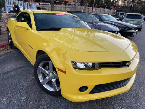 2015 Chevrolet Camaro for sale at PRESTIGE AUTOPLEX LLC in Austin TX