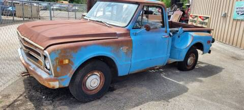 1968 Chevrolet C/K 10 Series for sale at COLLECTABLE-CARS LLC in Nacogdoches TX