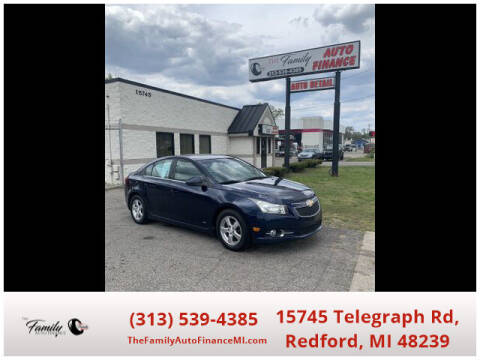 2011 Chevrolet Cruze for sale at The Family Auto Finance in Redford MI