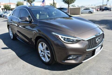 2017 Infiniti QX30 for sale at DIAMOND VALLEY HONDA in Hemet CA