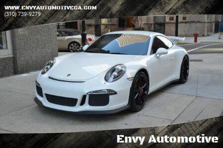 2015 Porsche 911 for sale at Envy Automotive in Studio City CA