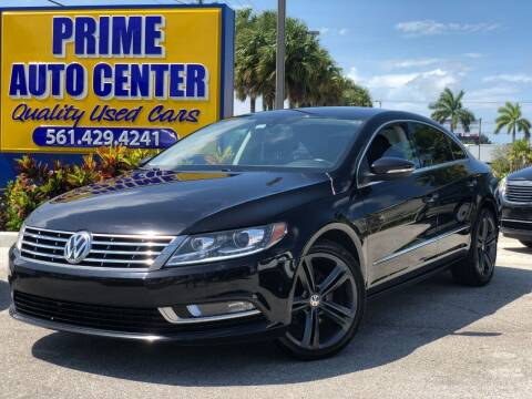 2013 Volkswagen CC for sale at PRIME AUTO CENTER in Palm Springs FL