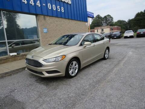 2018 Ford Fusion Hybrid for sale at Southern Auto Solutions - 1st Choice Autos in Marietta GA