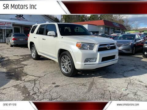 2010 Toyota 4Runner for sale at SR Motors Inc in Gainesville GA