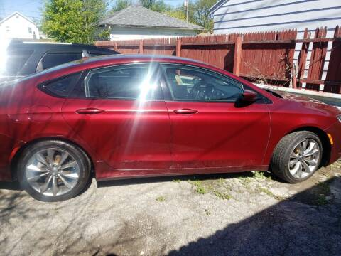 2015 Chrysler 200 for sale at M & C Auto Sales in Toledo OH