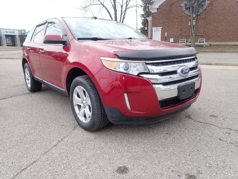 2014 Ford Edge for sale at Marvel Automotive Inc. in Big Rapids MI
