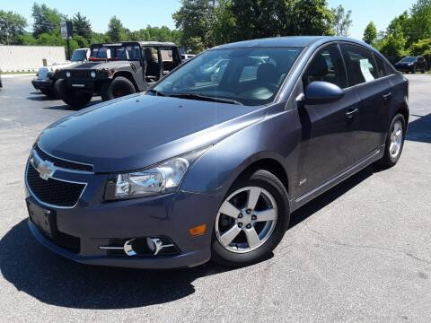 2013 Chevrolet Cruze for sale at Cruisin' Auto Sales in Madison IN