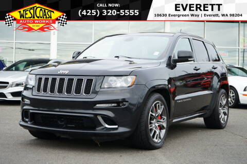 2012 Jeep Grand Cherokee for sale at West Coast Auto Works in Edmonds WA