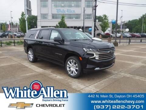 2021 Chevrolet Suburban for sale at WHITE-ALLEN CHEVROLET in Dayton OH