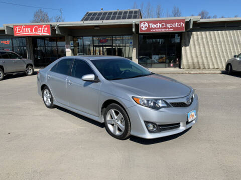 2013 Toyota Camry for sale at Freedom Auto Sales in Anchorage AK