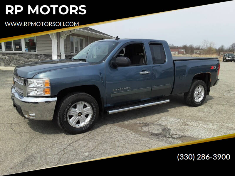 2012 Chevrolet Silverado 1500 for sale at RP MOTORS in Canfield OH