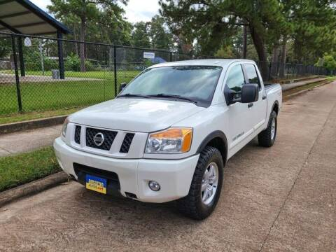 2010 Nissan Titan for sale at Amazon Autos in Houston TX