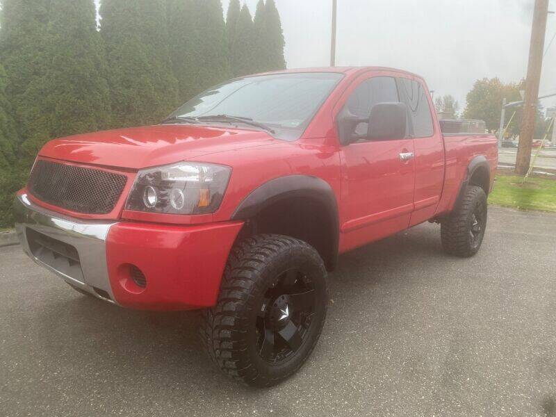 2006 Nissan Titan for sale at MILLENNIUM MOTORS INC in Monroe WA