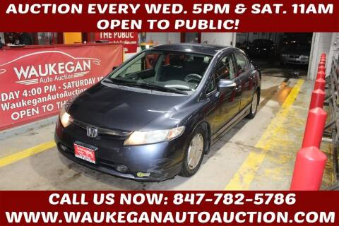 2006 Honda Civic for sale at Waukegan Auto Auction in Waukegan IL
