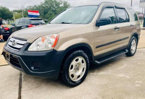 2006 Honda CR-V for sale at Testarossa Motors Inc. in League City TX