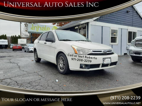 2010 Ford Focus for sale at Universal Auto Sales Inc in Salem OR