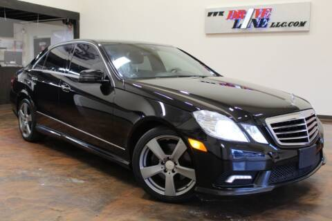 2010 Mercedes-Benz E-Class for sale at Driveline LLC in Jacksonville FL